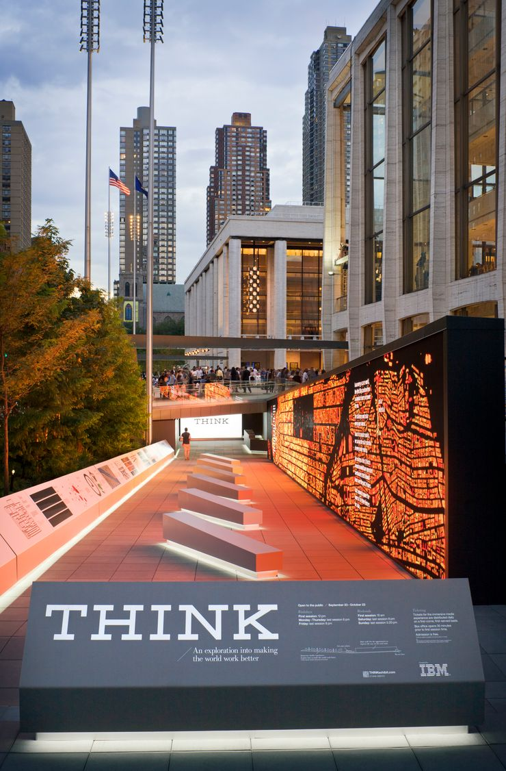 Image 1 for IBM THINK at Lincoln Center