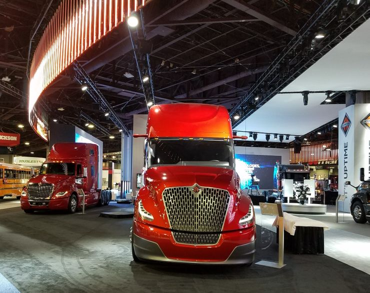 Image 1 for International Trucks Takes on the North American Commercial Vehicle Show 2017