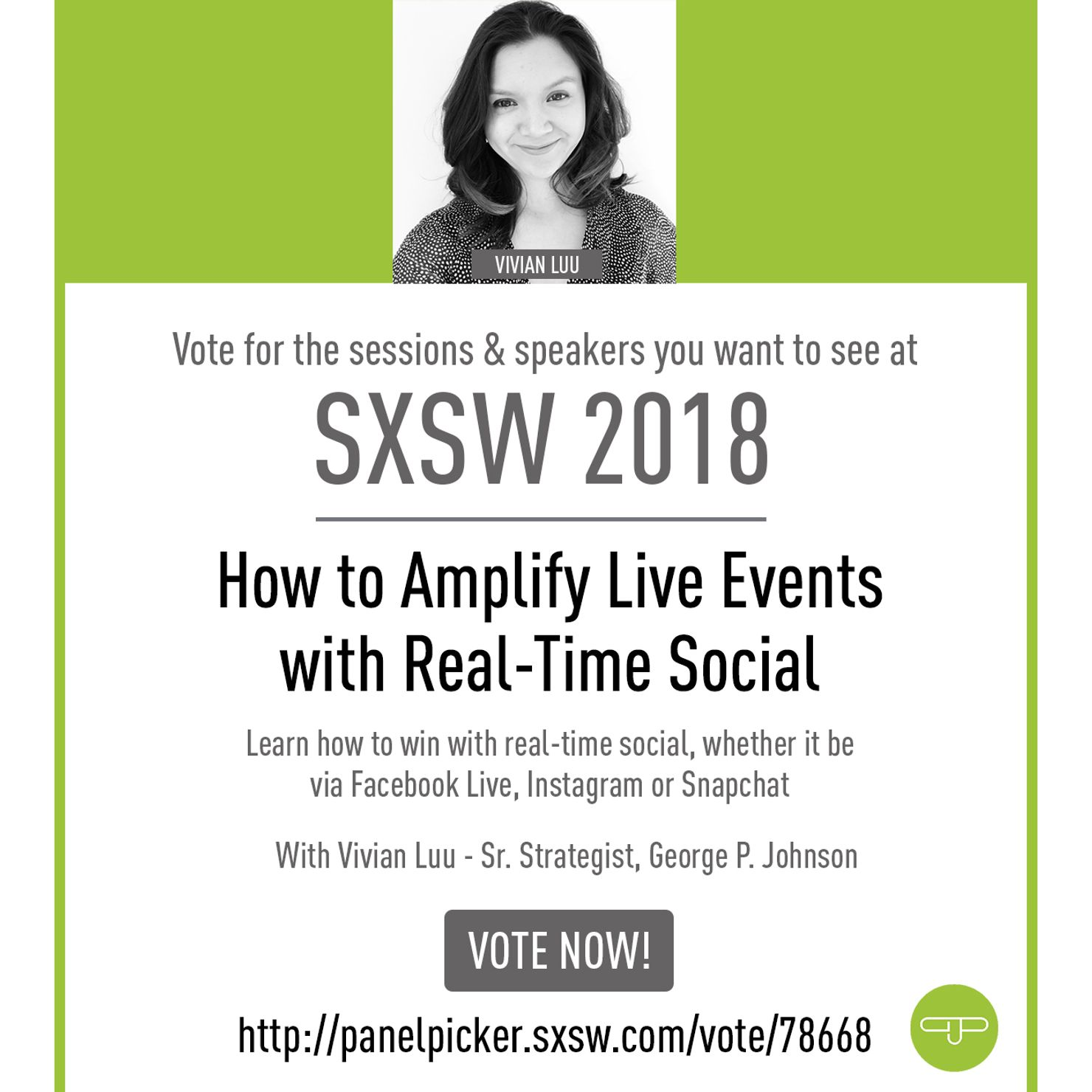 Image 3 for Help GPJ Bring Experiential to SXSW 2018!