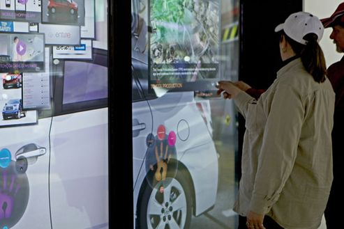 Image 3 for Toyota Multi-Touch Vision Wall 2011