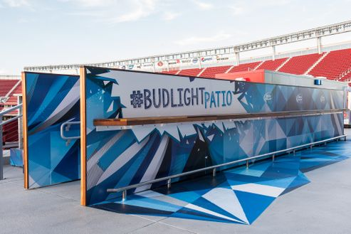 Image 6 for Bud Light Patio at Levi's Stadium