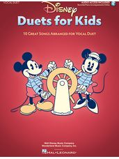 Disney Duets for Kids (Book and Audio Access)
