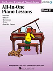 Hal Leonard: All-in-One Piano Lessons Book D
