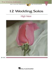 12 Wedding Solos (Book and CD)