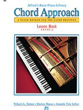 Alfred's Basic Piano Chord Approach Lesson Book 2