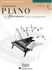 Accelerated Piano Adventures for the Older Beg Performance 1