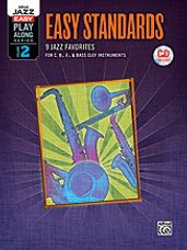 Alfred Jazz Easy Play-Along Series, Vol. 2: Easy Standards (BK/CD)