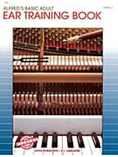 Alfred's Basic Adult Piano Course Ear Training Book 1