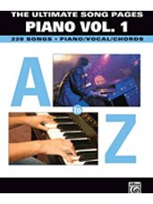 Ultimate Song Pages - Piano, Volume 1: A to Z, The