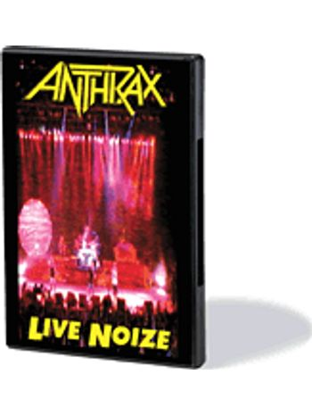 Anthrax Live Noize Dvd     1991 Concert with Public Enemy