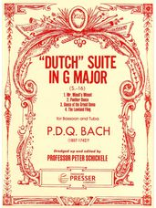 """""""Dutch"""" Suite in G Major for Bassoon and Tuba"""