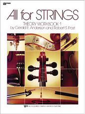 All For Strings Theory Workbook 1-String Bass