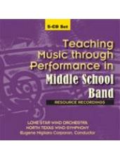 Teaching Music Through Performance in Middle School Band (CD)