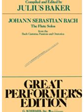 Flute Solos from the Bach Cantatas, Passions and Oratorios