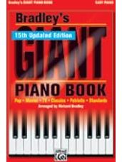 Bradley's New Giant Piano Book (15th Updated Edition!) [Piano]