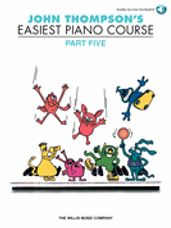 John Thompson's Easiest Piano Course Part 5 - Book/CD