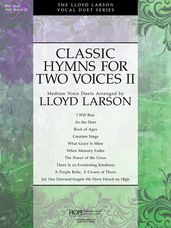 Classic Hymns for Two Voices II (Book Only)