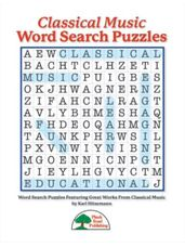 Classical Music Word Search Puzzles