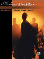 Dan Coates Popular Piano Library: Medleys of Pop & Rock [Piano]