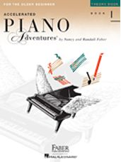Accelerated Piano Adventures for the Older Beginner Theory 1