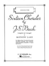 Sixteen Chorales by J.S Bach