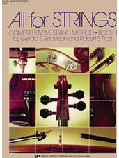 All For Strings Book 1 - Piano Accompaniment