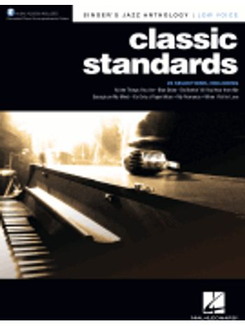 Classic Standards - Low Voice (Singer's Jazz Anthology)