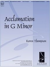 Acclamation in G Minor 4 to 6 octaves