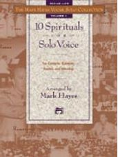 10 Spirituals for Solo Voice (Book and CD)